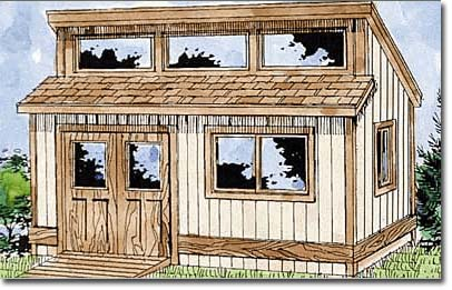 Shed Building Plans | Storage Building Plans