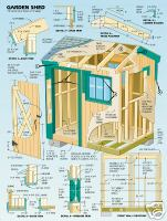 Use shed plans to build your perfect garden shed