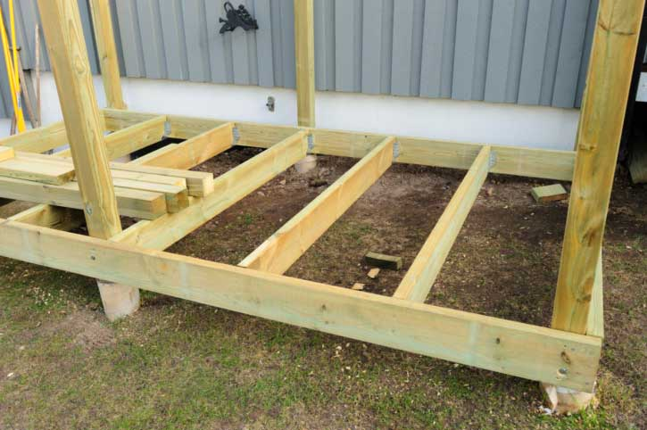 Use plans to build this lean to shed and get organized