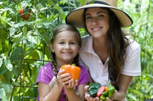 enjoy growing your own vegetables