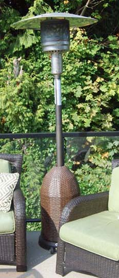 New outdoor patio heater