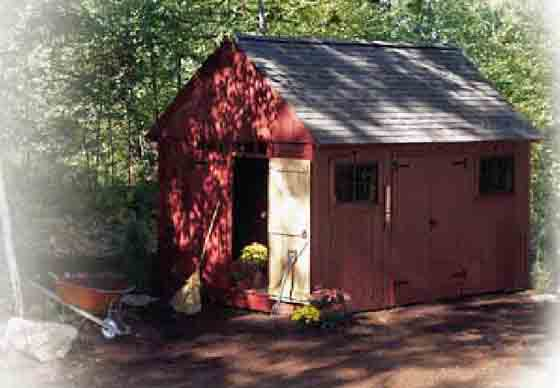 Download the free plans to build this garden shed