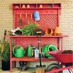 You can build this potting bench today